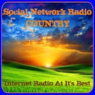 Social Network Radio Country icon