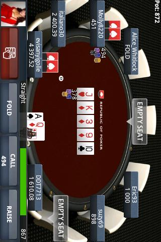 republic-of-poker for android screenshot