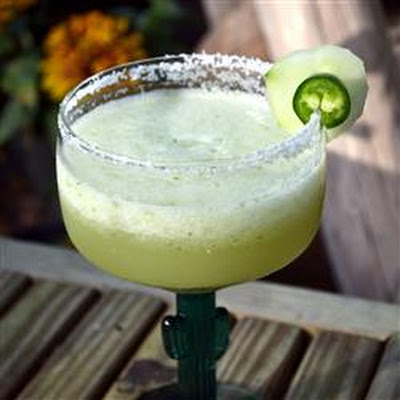 Jalapeno and Cucumber Margarita