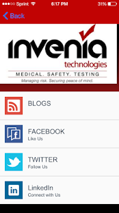 Invenia Technologies - screenshot