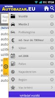 Screenshot of Autobazar EU