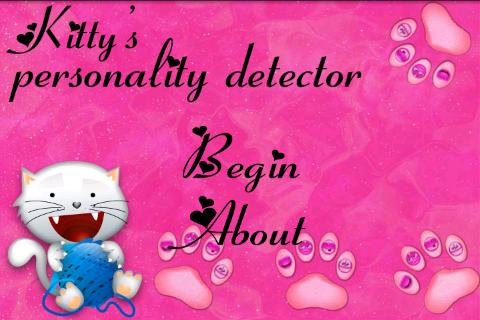 Kitty's Personality Dete. Free