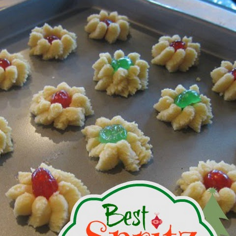 Best Spritz Cookie Recipe Spritzgeback Cookies - Swedish Butter Cookies - Pressed Butter Cookies