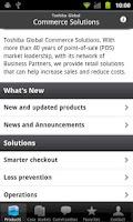 Screenshot of Toshiba Global Comm. Solutions