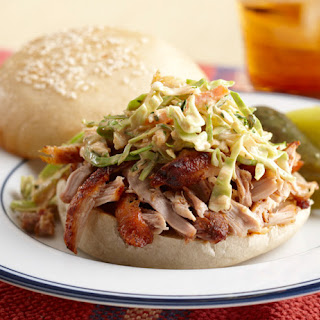 Grilled BBQ Chicken Sandwich with Slaw