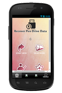Recover Pen Drive Data Guide - screenshot