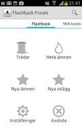 Screenshot of Flashback Forum Lite