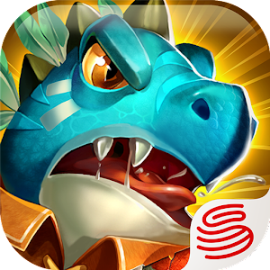 Rise of Dinos you must build and defend your village against enemy Dino tribes! APK Icon