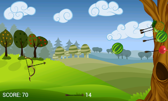 Screenshot of Fruit Archery