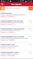 Screenshot of Carrefour Spectacles