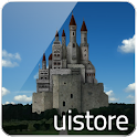 castle and sky LWallpaper Free icon