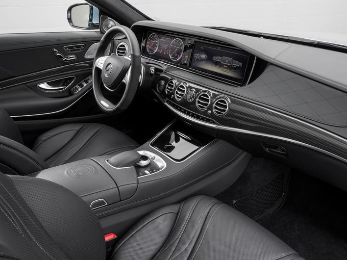S63 AMG interior