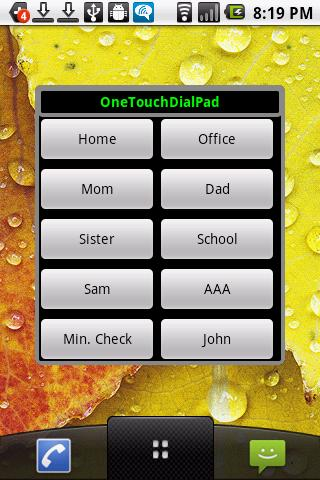 【免費工具App】One Touch DialPad With Widget-APP點子