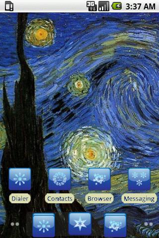 Starry Night [SQTheme] for ADW