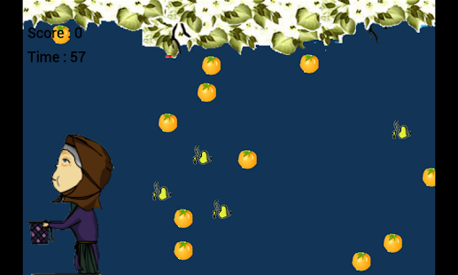 Getting fruit of trees - screenshot