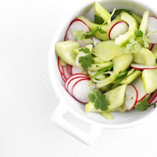 Pickled Radish & Cucumber Salad