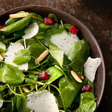 Watercress Salad with Manchego, Membrillo, and Almonds Recipe