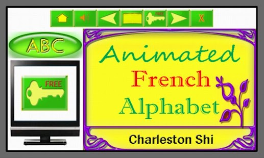 Animated French Alphabet - screenshot
