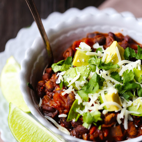Smoky Black Bean Chili