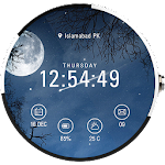 Weather Watch Face - G Watch R APK Image