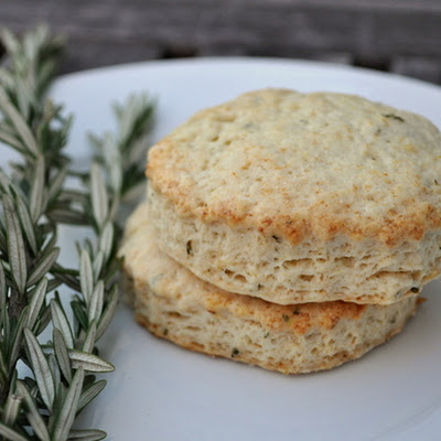 Lemon Rosemary Scones