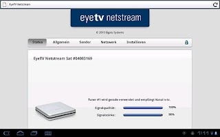 Screenshot of heytv - TV for Android