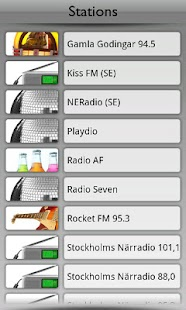 Sverige Radio by Tunin.FM - screenshot