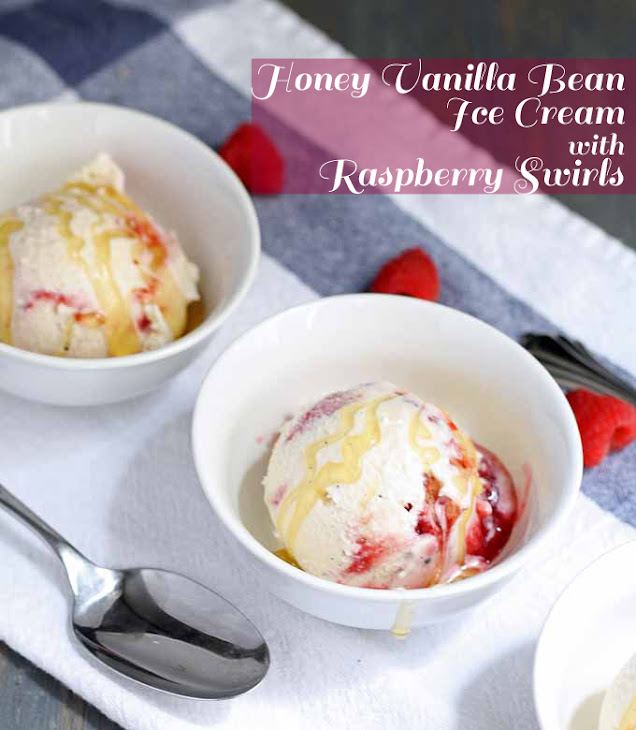 strawberry vanilla bean swirl ice cream recipes dishmaps vanilla bean ...