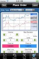 Screenshot of EXNESS MT4 droidTrader