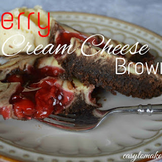 Cherry Cream Cheese Brownies