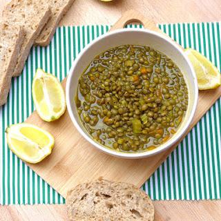 Green Lentil Soup With Lemon Recipes