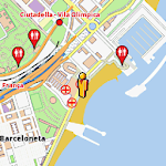 Barcelona Amenities Map APK Image