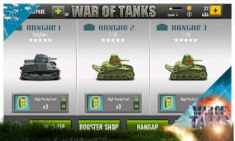 Screenshot of War of Tanks