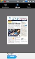 Screenshot of AAP News
