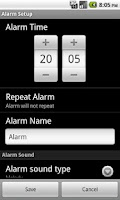 Screenshot of GetUp! Alarm Trial