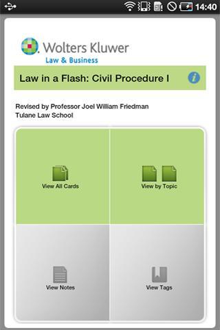 LIAF: Civil Procedure I