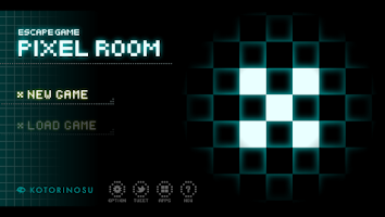 Screenshot of Pixel Room -Escape Game-
