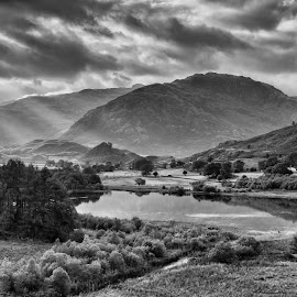 little langdale by Alan Ranger - Landscapes Mountains & Hills ( algenon, photography tuition, cumbria, black and white, photography workshops, little langdale, landscape workshops, lake district, alan ranger, info@alanranger.com, photography classes, landscape photography, photography courses, digital photography lessons, online-mentoring, www.alanranger.com, alan ranger photography, mono, private photography tuition, september )