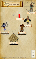 Screenshot of Temple Treasure Hunt Game