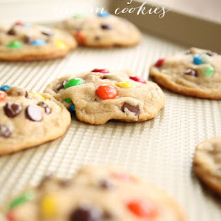 Bakery M&M Cookies