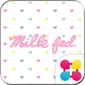 MILKFED. HEART for[+]HOMEきせかえ icon