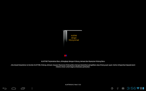 alkitab-kj-tablet for android screenshot