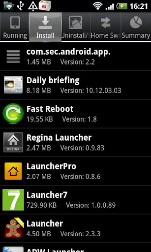 se-task-manager for android screenshot