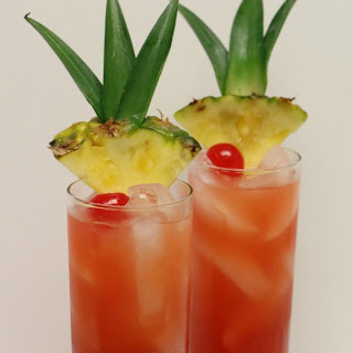 Crash and Burn Cocktail