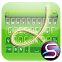 SlideIT Kiwi Bubbles Skin icon