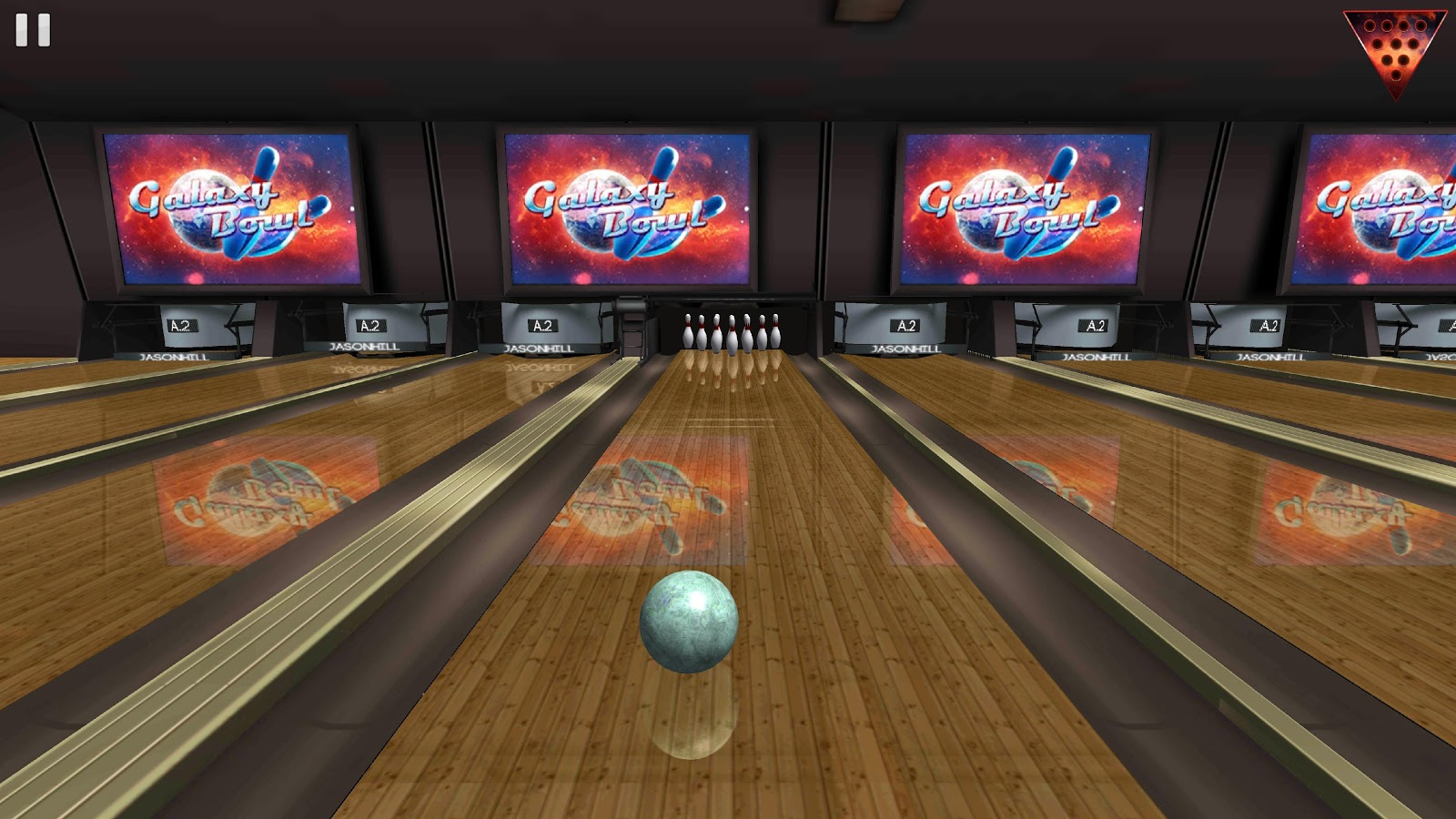 Galaxy Bowling ™ 3D Screenshot 0