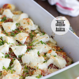 Baked Gnocchi with Ricotta