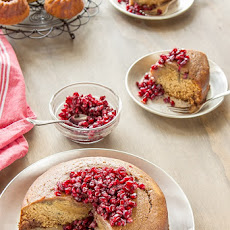 Pomegranate Syrup Cake