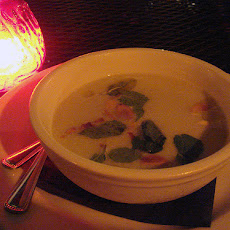 White Gazpacho with Grapes and Toasted Almonds