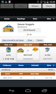 Denver Basketball News - screenshot